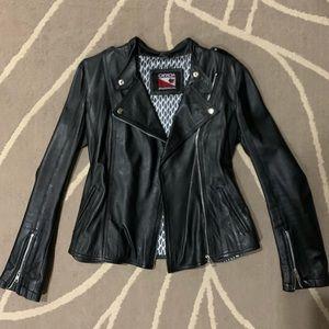 Canada Sportswear Leather Jacket